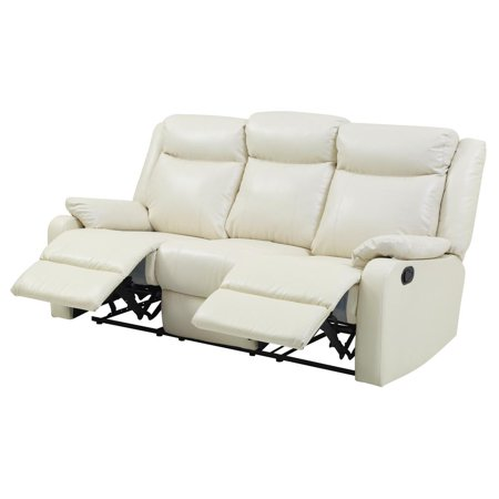 Glory Furniture Ward G762a Rs Double Reclining Sofa Pearl