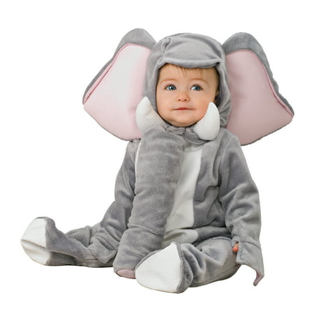 Ty Animal Halloween Costumes (Rubies Elephant Infant Halloween)