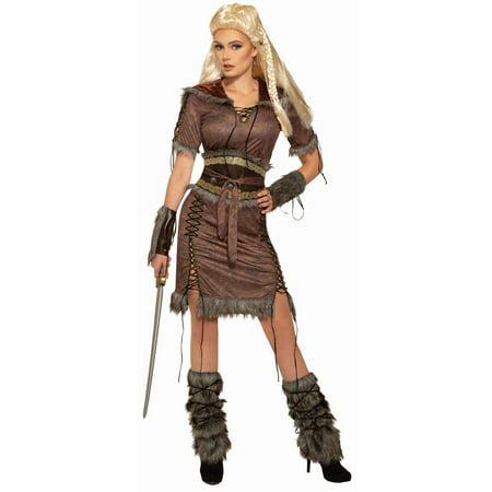 Halloween Viking Shield Maiden Adult (The Shield Costume)