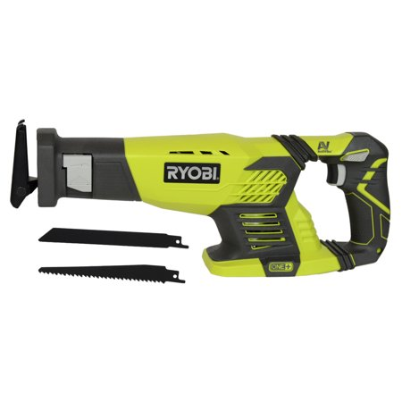 Corded Cordless Reciprocating Saw - Ryobi Tools P514 18V ONE+ Variable Speed Cordless Reciprocating Saw, Bare Tool