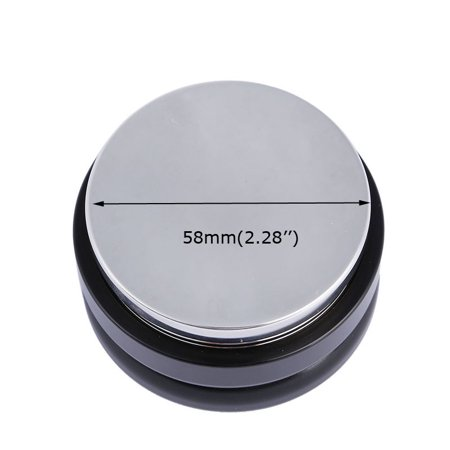 Techtongda Brand New Adjustable Smart Coffee Tamper Black 58mm Ship from US 020094