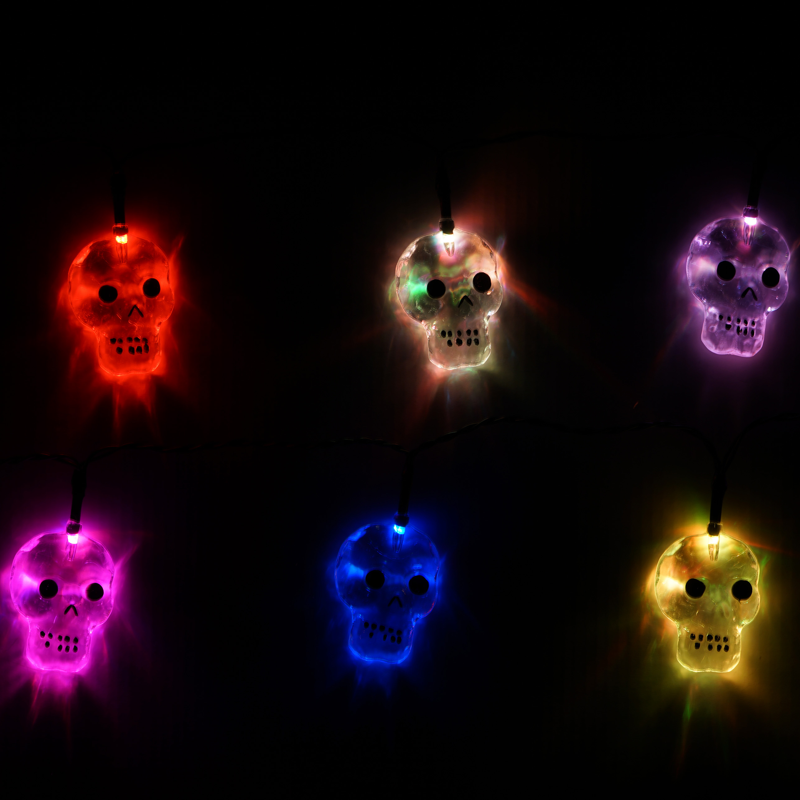 Halloween 10ct Battery Operated LED Novelty Lights