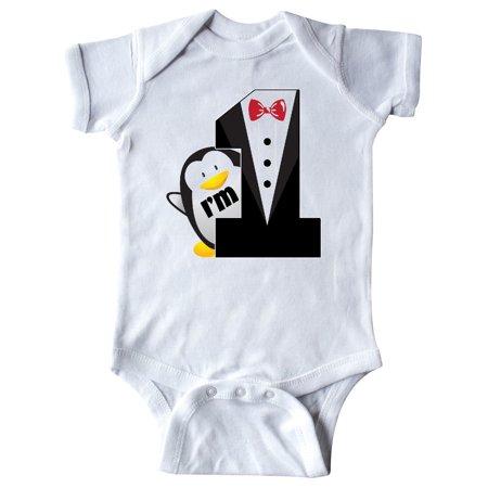 Baby Tuxedo Pajamas (1st Birthday Tuxedo Penguin Infant)