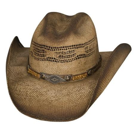 Bullhide Full Speed Bangora Straw Cowboy Hat