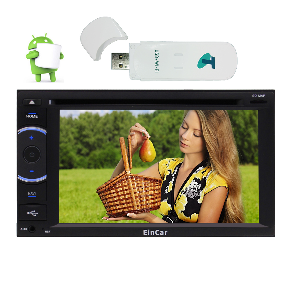 Car Radio Stereo System with Quad-core Android 6.0 DVD Pl...
