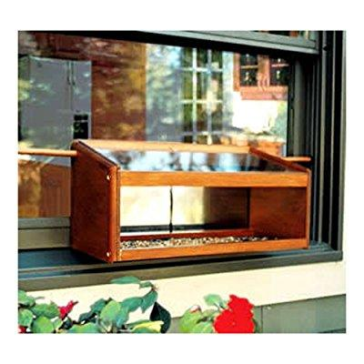 Coveside Mirrored Windowsill Birdfeeder by Birdfeeders