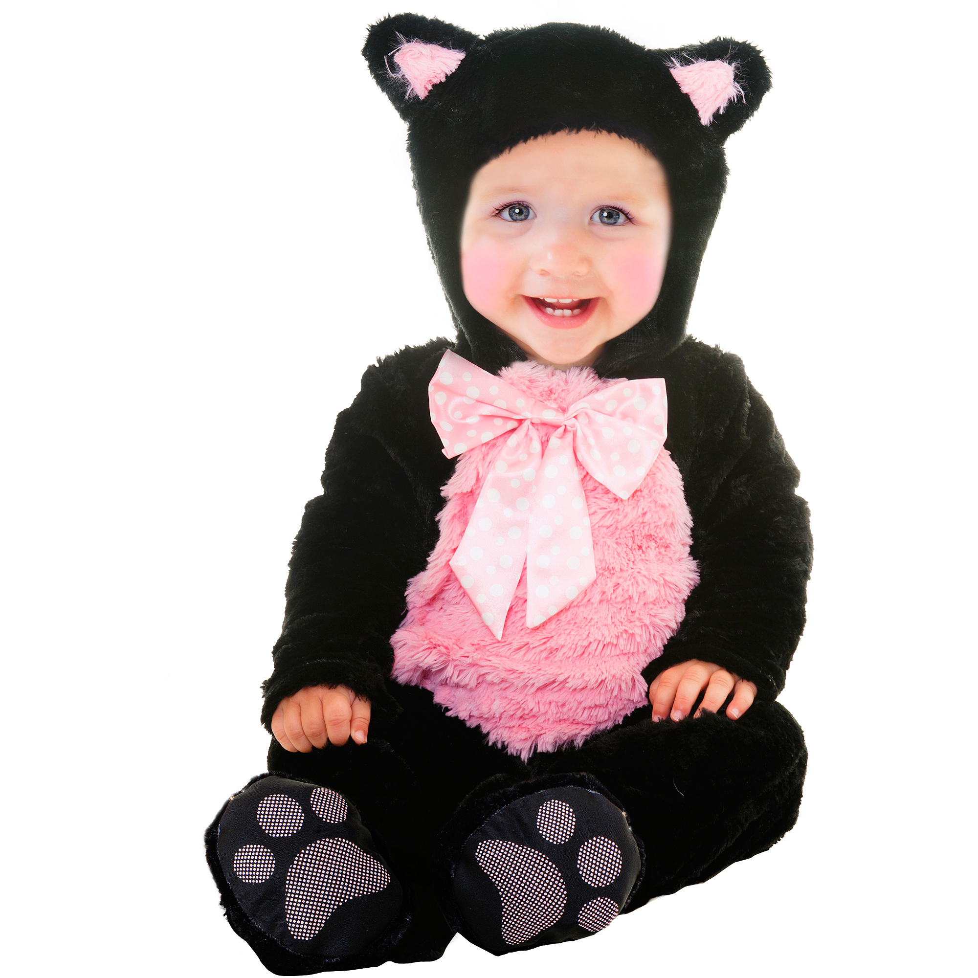 sc 1 st  Walmart & Kitty Cat Cutie Infant Halloween Costume - Walmart.com