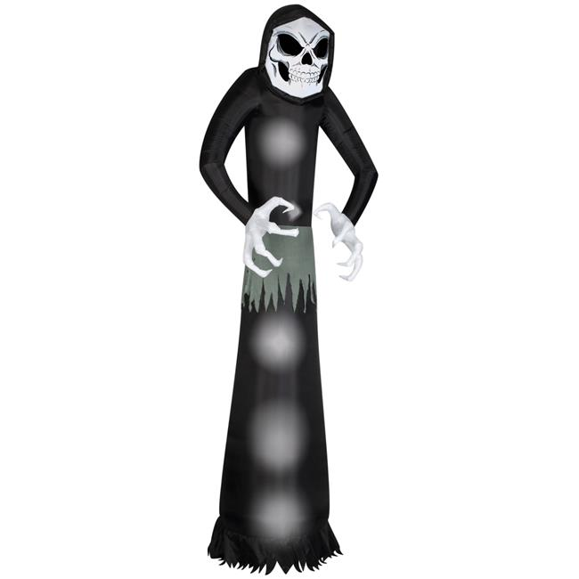 Gemmy SS56497G Airblown-Wicked Reaper Costume