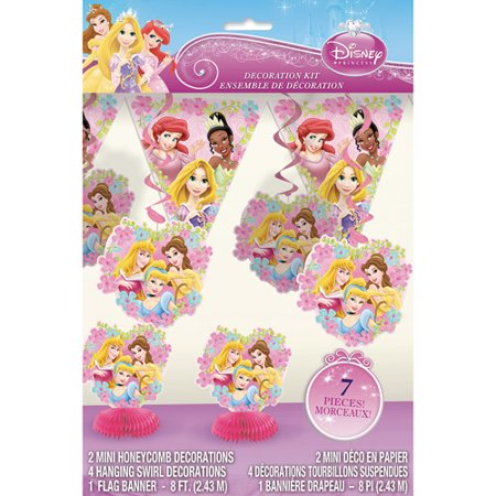 Disney Princess Decoration Kit - Walmart.com