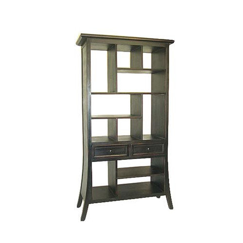 Wayborn Fukui Ebony Modular Bookcase