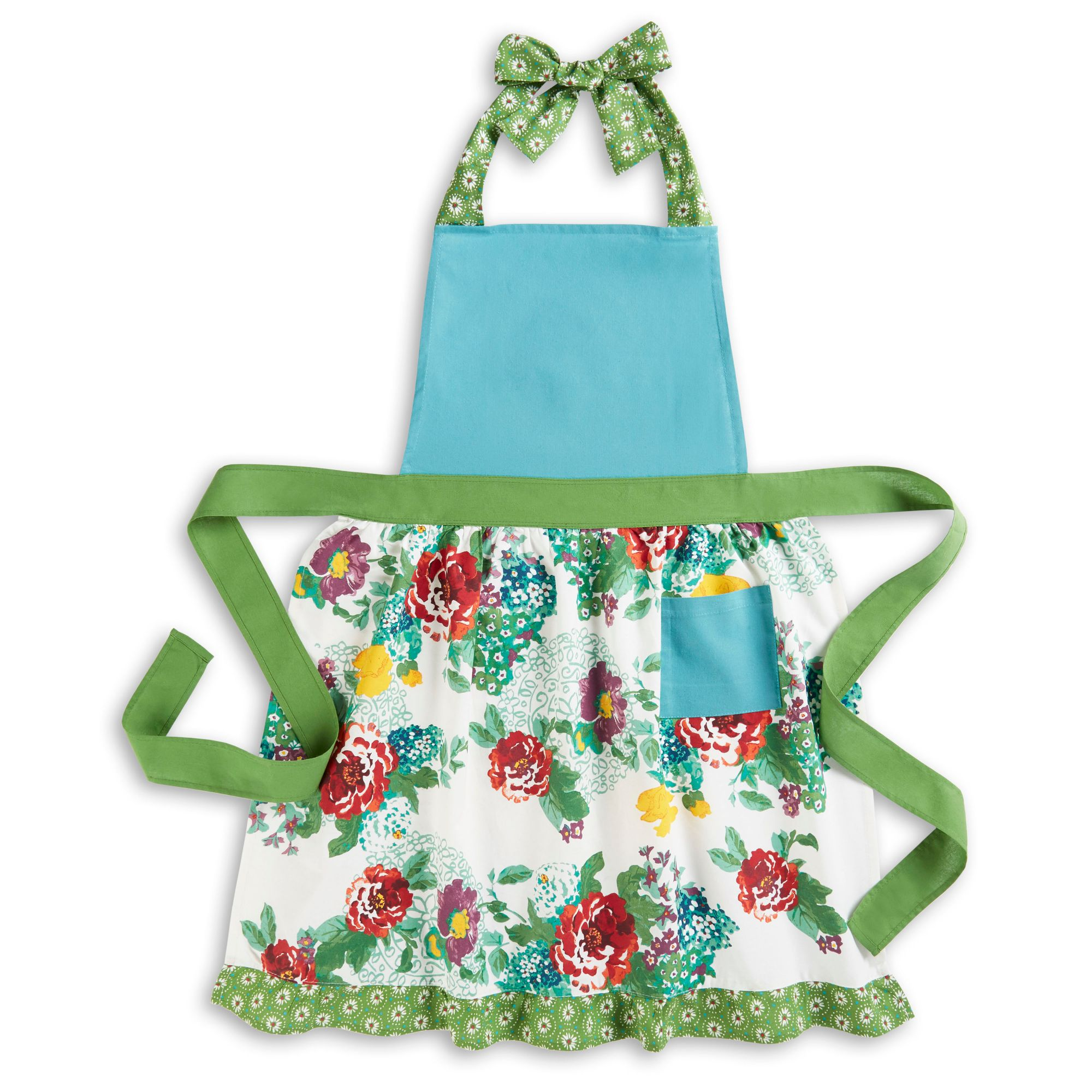 Girls Apron Flower Apron Cooking Apron Apron Simple Apron Pioneer Apron Woman/'s Apron