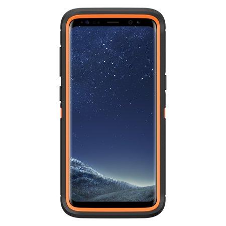 the best attitude 5f504 6ba32 Otterbox Samsung Galaxy S8 Orange/Black Realtree Xtra Camo Defender Series  case - 77-54650
