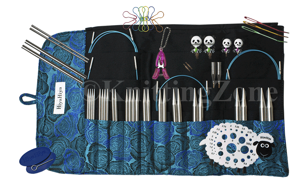"HiyaHiya 5/"" Sharp LIMITED EDITION Interchangeable Knitting Needle Set"