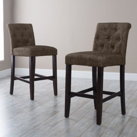 Morgana Tufted Bar Stool Walmart Com