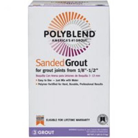 BRIGHT WHITE GROUT 7 LB 10 Lb Non Sanded Grout
