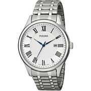 Mens Analog Stainless Watch - Silver Bracelet - Silver Dial - PH9039