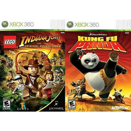 lego indiana jones: the original adventures / kung fu
