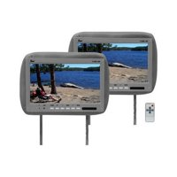 """Tview T110PLGR Monitor 11.2"""" Widescreen Gray In Headrest;;Remote"""