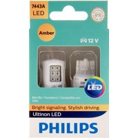Philips Ultinon LED 7443ALED, W3X16Q, Plastic, Always Change In Pairs!