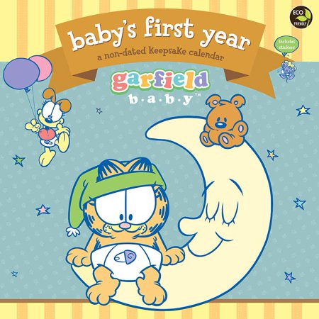 Tf Publishing 2015 Babys 1St Year Garfield Wall Calendar