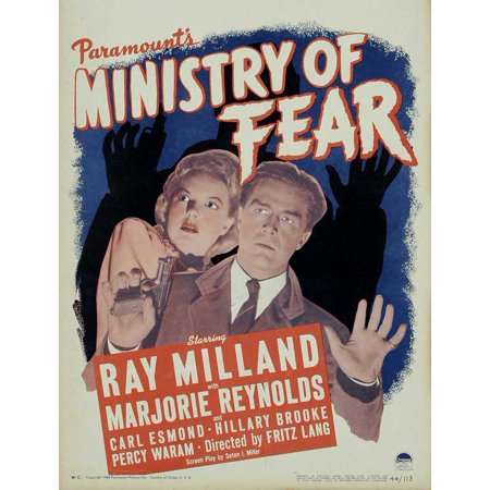 Ministry of Fear POSTER Movie B (27x40) (Ministry Halloween)