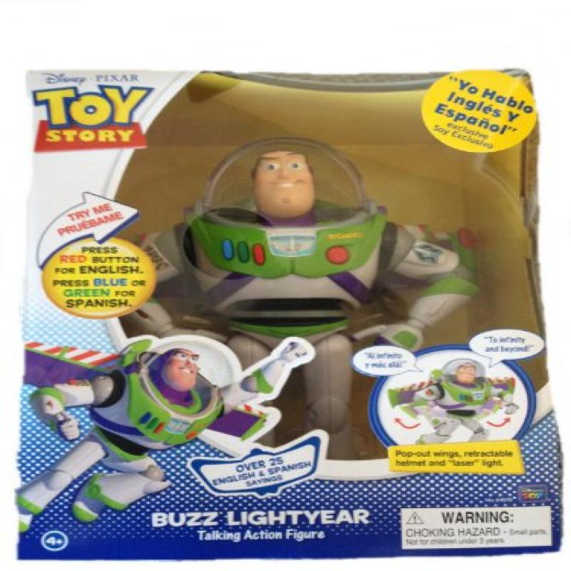 Disney Toy Story Spanish Speaking Buzz Lightyear Talking Action Figure by