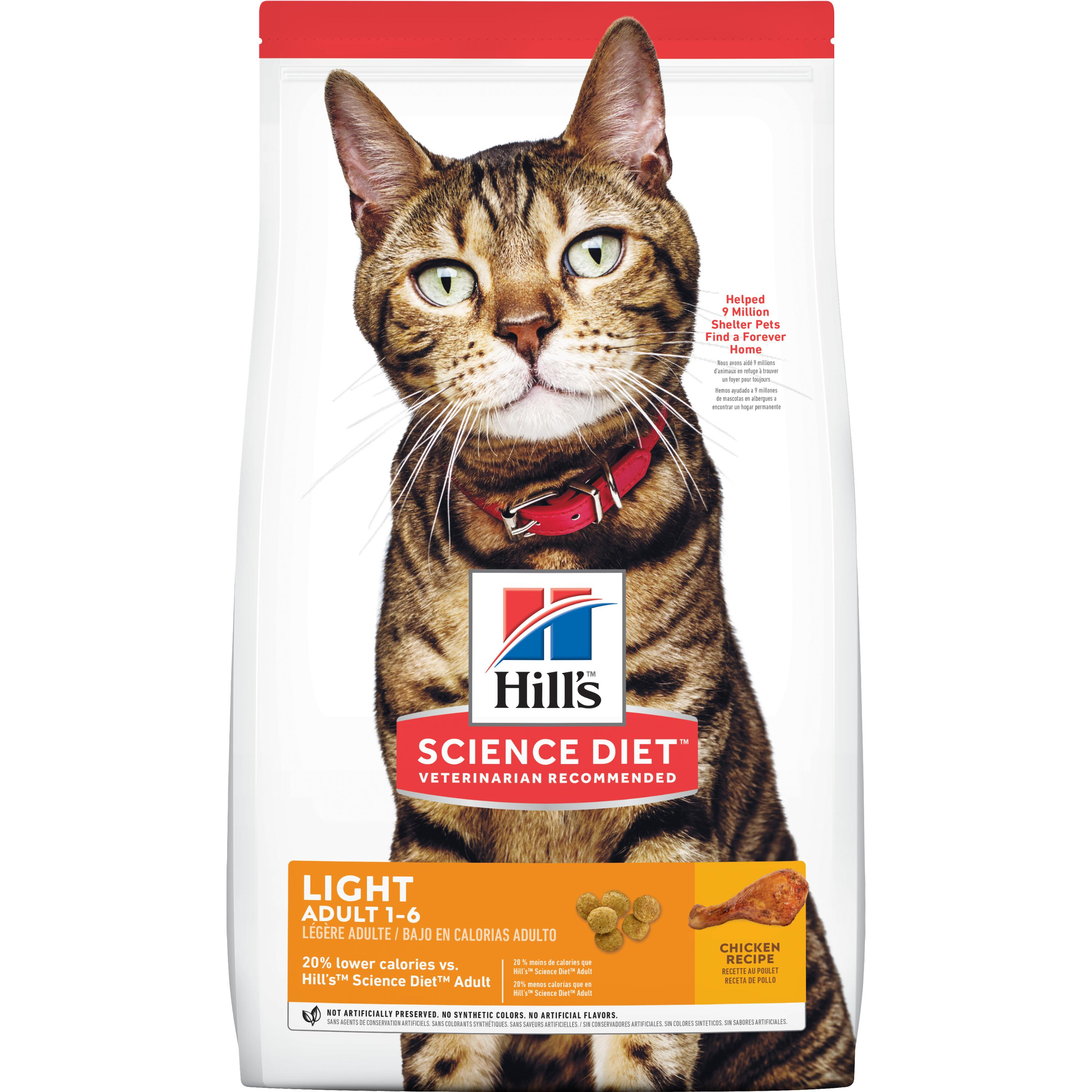 Hill's Science Diet (Spend $20,Get $5) Adult Light Chicken Recipe Dry Cat Food