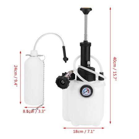 Yosoo 3L Capacity Manual Brake Clutch Fluid Bleeder Bleeding