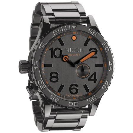 Nixon Men's 51-30 A0571235 Black Stainless-Steel Swiss Quartz Watch
