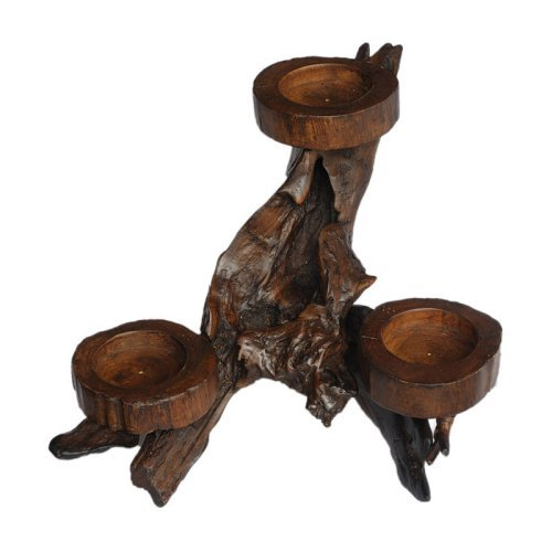 Rocky Mountain Tabletop Candelabra - 15.7W x 7.8H in.