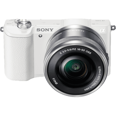 Sony Ip Camera (Sony Alpha a5100 Mirrorless Camera w/ 16-50mm lens - White)