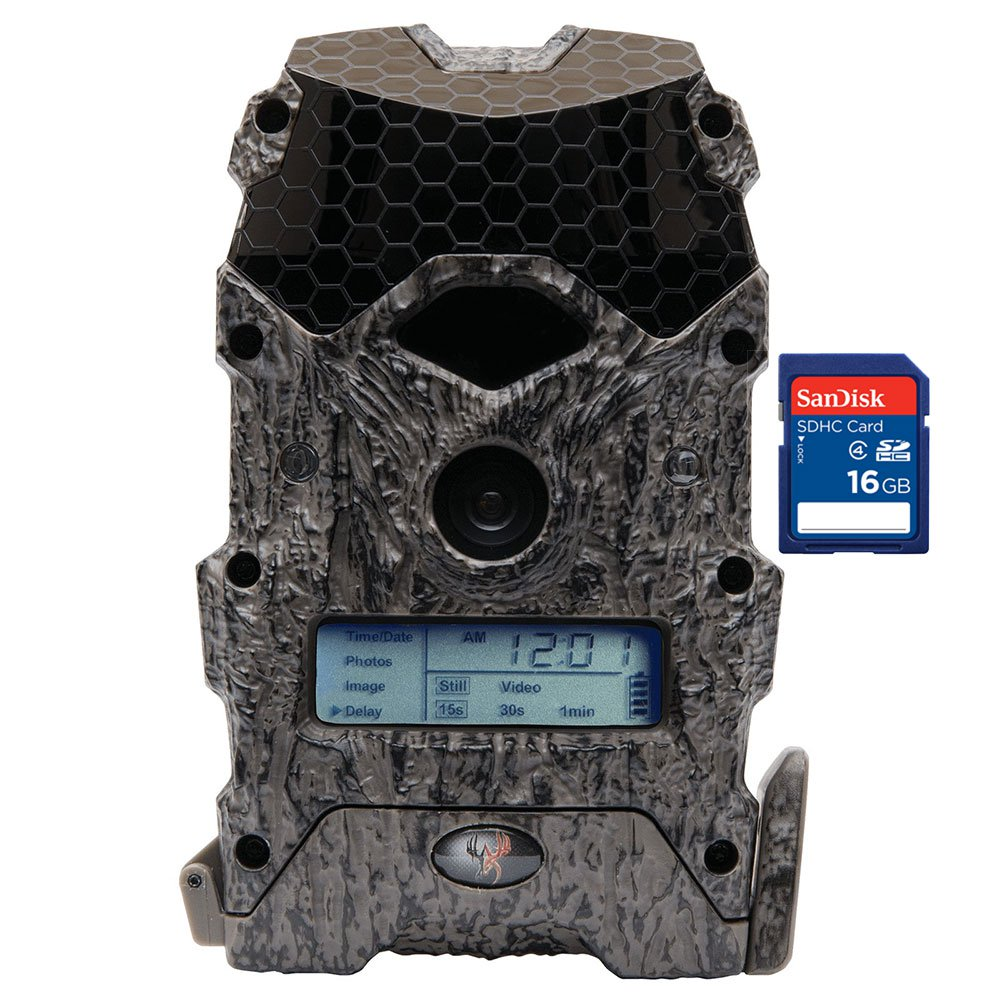 Wildgame Innovations Mirage 16MP Trail Camera + SanDisk 16GB SD Memory Card