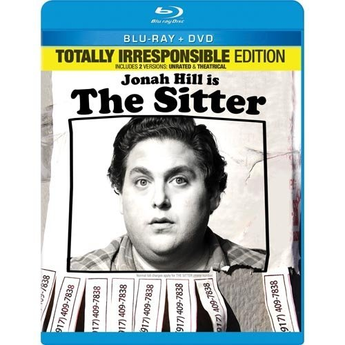The Sitter (Totally Irresponsible Edition) (Blu-ray   DVD) (With INSTAWATCH) (Widescreen)
