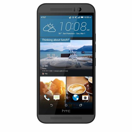 New Htc One M9  0Pk7110 32Gb Gsm Factory Unlocked 4G Lte 5 2   Super Lcd3 3Gb Ram Dual 20Mp 2 1Mp Smartphone   Gunmetal Gray