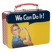 Smithsonian Rosie the Riveter Large Tin Tote