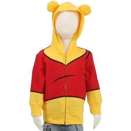4536b2c834d3 Toddler Winnie The Pooh I Am Winnie Costume Hoodie - Walmart.com