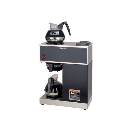 BUNN VPR-2EP 12-Cup Pourover Commercial Coffee Brewer - Black
