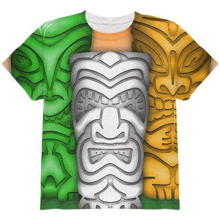 St Patricks Day Tiki Glass Party All Over Youth T Shirt](St Patricks Day Glasses)