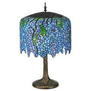 Meyda 28-inch Tiffany Wisteria Table Lamp