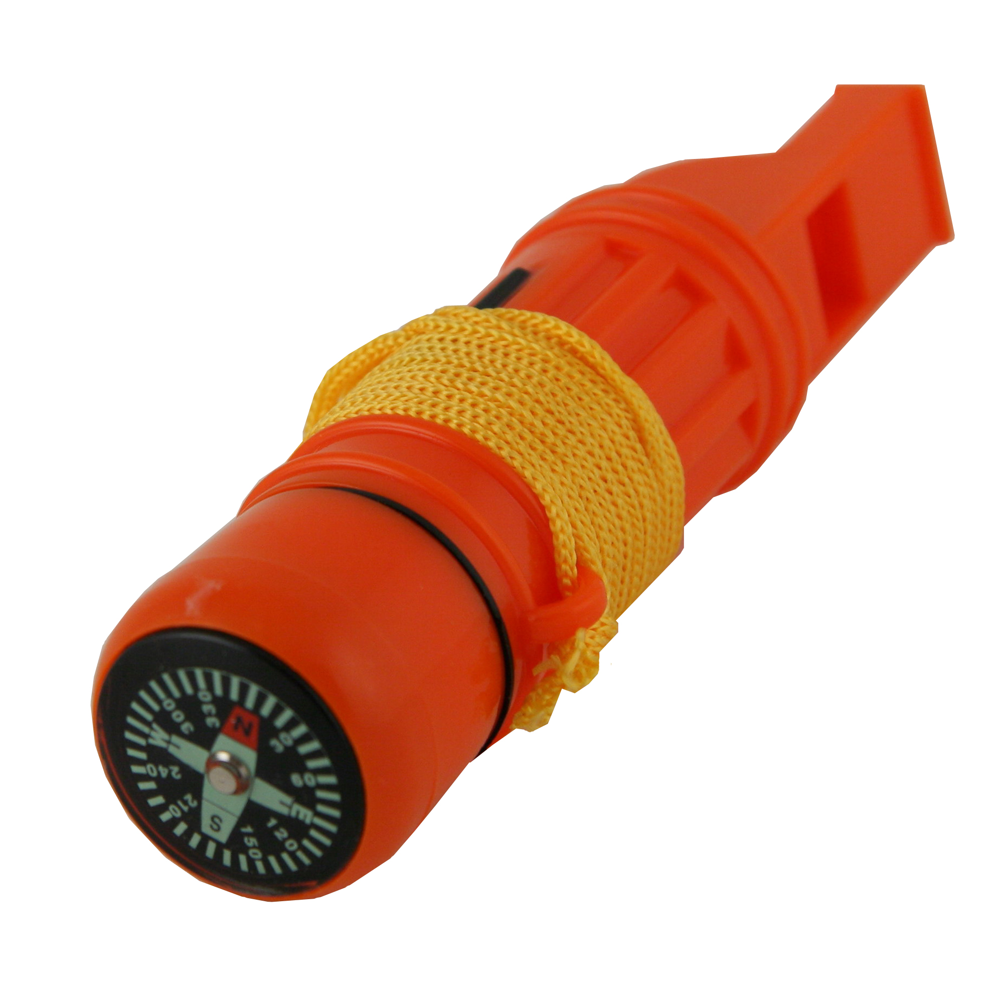 5 in 1 Emergency Survival Whistles, Available in 1, 3, and 30 Packs by Emergency Zone