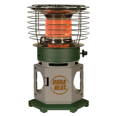 World Marketing Fireplace - World Marketing of America DuraHeat LP18-360 Double Tank Portable 360 Degree Indoor Outdoor Propane Heater