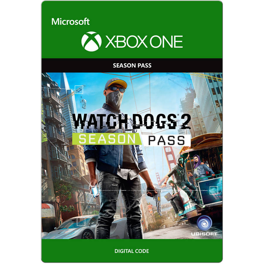 Xbox One Watch Dogs 2 Season Pass (Email Delivery)