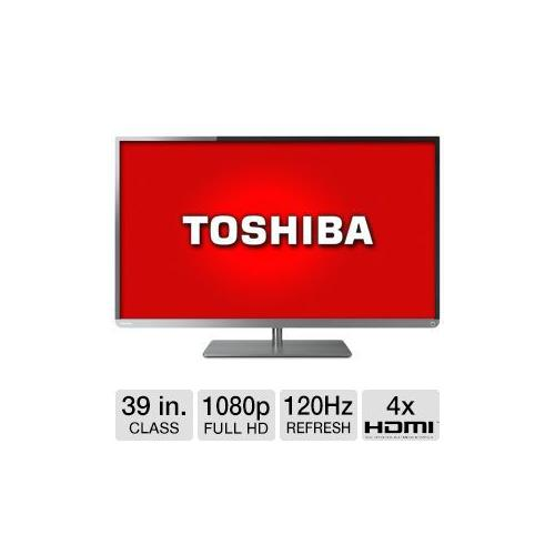 "Toshiba 39"" Class 1080p LED TV and Buffalo AirStation Extreme Wireless Router Bu"