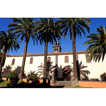 Church of the Immaculate Conception, San Cristobal De La Laguna, Tenerife, Canary Islands, Spain Print Wall Art By Carlo (Church Of The Immaculate Conception San Diego)
