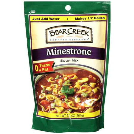(2 Pack) Bear Creek Country Kitchens Minestrone Soup Mix, 9.3 OZ