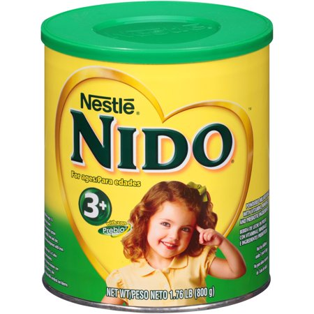 Nestle NIDO Pre-School 3+ Whole Milk Powder 1.76 lb. Canister | Powdered Milk