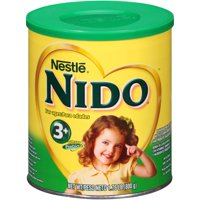 Nestle NIDO Pre-School 3+ Whole Milk Powder 1.76 lb. Canister | Powdered Milk Mix