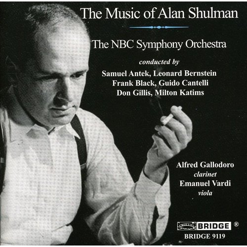 Includes waltz(es) for orch by Alan Shulman.  Ensemble: NBC Symphony Orchestra.  Conductor: Milton Katims.