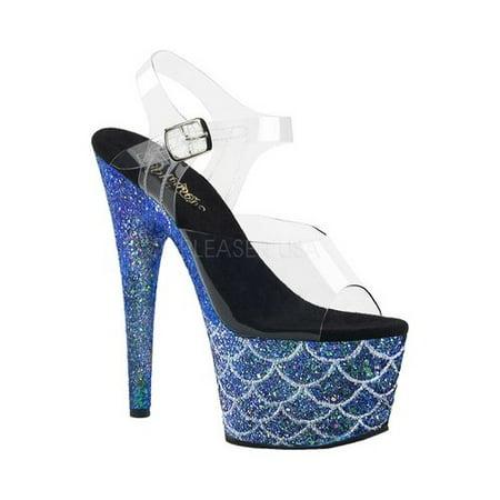 - Women's Pleaser Adore 708MSLG Platform Sandal