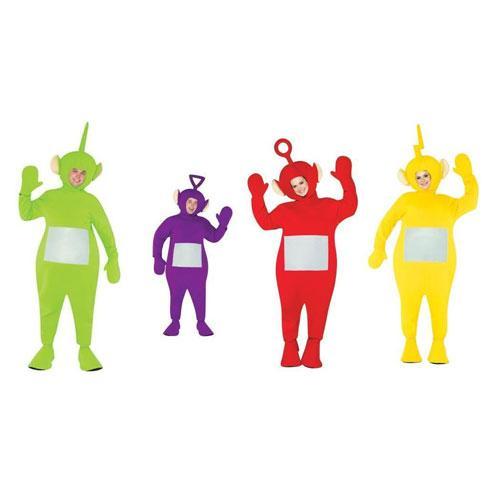 Teletubbie Adult Costume Four-Pack